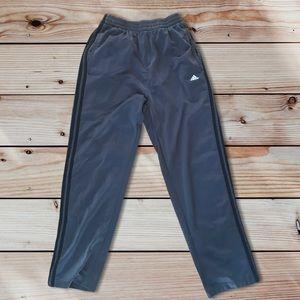 Adidas | Men's Gray Snap Pants Size S